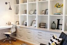Home: Office Inspirations / Decorating ideas for your office!