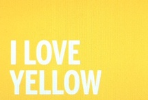 Yellow / by Rachel Esther