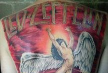 Led Zeppelin Tattoos / A collection of tattoos featuring Led Zeppelin themes. / by Swan Song - Led Zep Tribute