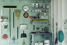Home: Garage Organization Inspirations! / Everything you need to organize the garage. / by DeDe @ Designed Decor