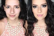 DINAIR BEFORE & AFTER / Before and After Dinair Airbrush Makeup