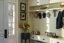 Home: Mud Room Inspirations! / Make a lasting impression with a great organized Mud room.  Find great ways to organize your mudroom. / by DeDe @ Designed Decor