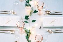 ❥❥ T A B L E  S E T T I N G S ❥❥ / This is how you set your table