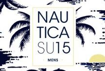 Men's Summer 15 Look Book / For Summer 2015, Nautica is inspired by the palette and energy of the true getaway.  Style, performance and water come together with the youthful spirit of the islands.  It's your adventure.  It's a new season.