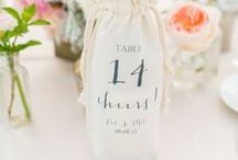 Wedding Table Number Ideas / Table number and table name ideas and inspiration for your wedding.