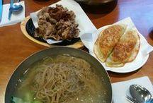 Seoul Foods / Foods from Seoul, Korea.