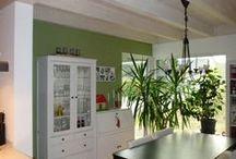 Innenausbau / Innenausbau unserer wohngesunden und ökologischen Einfamilienhäuser und Zweifamilienhäuser in Holzrahmenbauweise.