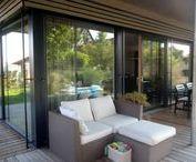 Hausdetails und Anbauteile / Hausdetails und Anbauteile unserer wohngesunden und ökologischen Einfamilienhäuser und Zweifamilienhäuser in Holzrahmenbauweise.