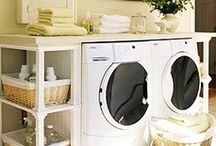 Suds in the Bucket / Creating a clean, organized laundry room