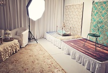 Photography Studio Inspiration / Staging an organized and functional photography studio