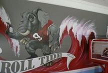 ALABAMA FOOTBALL / ~~ROLL TIDE ROLL~~ / by Lissa Leak