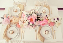 Party Inspiration / Table Arrangement, Party Idea etc