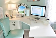 {Home Office Space} / by Ashley Miller