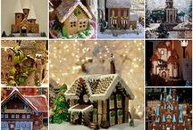 gingerbread houses / by Lissa Leak