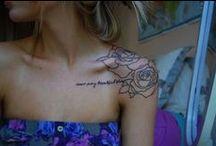 Piercings & Tattoos / by Shawna Rutz