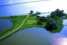 "Prairie Lakes Golf Course Grand Prairie, Texas / Always a ""Place to Play,"" this 27-hole course set on the shores of Mountain Creek Lake offers fast, affordable play. With the largest practice putting green in Texas and the local favorite Eddlemon's BBQ serving slow cooked brisket every day, Prairie Lakes offers a ""grand"" golfing experience. / by Grand Prairie Texas"