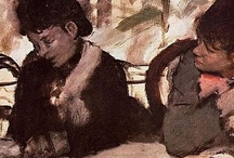 """sur les pas de  Degas / """"Per produrre buoni frutti, bisogna mettersi in spalliera;  si resta là tutta la vita, le braccia distese, la bocca aperta, per assimilare quel che passa, quello che è intorno a noi.           E viverne""""  Edgard Degas"""
