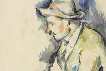 """Paul Cézanne / """"Je vais étonner les Parisiens avec une pomme."""" Paul Cezanne"""