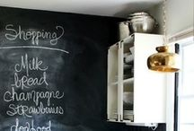 Interior—Chalkboards