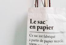 LE SAC EN PAPIER   PAPER BAG