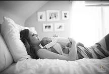 Newborn Session Ideas / Newborn lifestyle photography inspiration