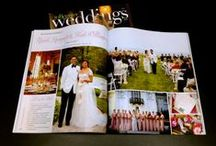 Published in Wedding Magazines / Weddings photographed by Newport RI wedding photographer, Peter Silvia.