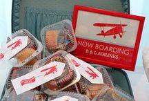 Vintage Airplane First Birthday / Inspiration for a boys first birthday party, vintage airplane theme