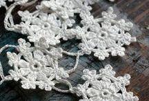 Virkkaus – crocheting and knitting