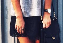S T Y L E : Off-duty / Casual outfit inspiration