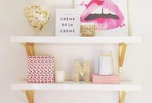 H O ME : Pinks & neutrals / Pinky, rosy neutral home styling options.