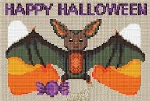 Halloween~Crafts~Cross Stitch/Embroidery