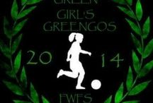 Ferencvárosi Torna Club Women Soccer / Green Girls Soccer, Green and White, Football