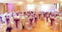 All Saints Centre wedding reception designs / Beautiful designs from past wedding receptions held at the Centre.