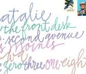 just penmanship/handwriting