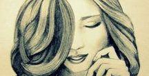 dziewczyny <3 piękne rysunki