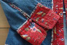 Ropa bonita y original hecha con retazos y bordados