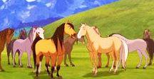 spirit et les chevaux