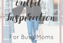 Outfit Inspiration for Busy Moms / This board is dedicated to easy, fashionable outfits to inspire busy moms.