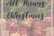 All Things Christmas From Gifts to Decor / This board is dedicated to everything Christmas related! From gifts to food to decor. Merry Christmas!!