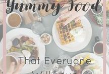 Yummy Food that Everyone Will Love / A board dedicated to FOOD!!! Dinners, lunches, snacks, desserts...anything and everything food related!