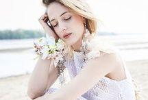 Wedding Dress Portfolio / Wedding dresses projects in professional photo sessions.  Suknie ślubne uszyte w pracowni Marty Trojanowskiej oczami najlepszych fotografów.