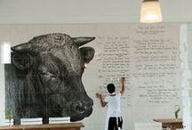 ideas | restaurant art