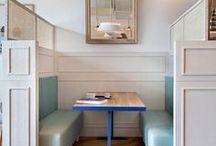 ideas | restaurant seating