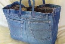 Denim / projects using recycled denim