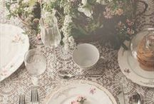 Table Settings / ideas & products to set a pretty table