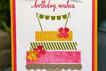 My Stampin' Up! Birthday Cards / Stampin' Up! Birthday Cards by Krystal De Leeuw at Krystal's Cards To order Stampin' Up! products, visit my website: http://www.stampinup.net/esuite/home/krystalscards/ / by Krystal's Cards - Stampin' Up!