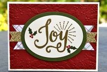 Krystal's Cards Stampin' Up! Christmas Cards / Stampin' Up! Christmas Cards by Krystal De Leeuw at Krystal's Cards. Find me on FB and IG #krystals_cards To order Stampin' Up! products, visit my website: http://www.stampinup.net/esuite/home/krystalscards/