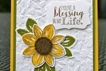 Stampin' Up! Hello Friend Cards / Stampin' Up! Cards created by a variety of talented stampers. Visit my website to place your order: http://www.stampinup.net/esuite/home/krystalscards/ / by Krystal's Cards - Stampin' Up!