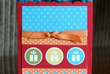 Stampin' Up! Fancy Favor Box Ideas / Stampin' Up!, Big Shot, Fancy Favor Box Card and Craft Ideas, Krystal De Leeuw