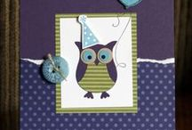 Stampin' Up! Owl Punch Art / Cards, projects and ideas using the Stampin' Up! Owl Punch Art